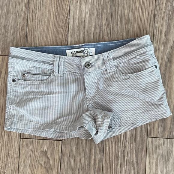 Garage Pin Stripped Shorts